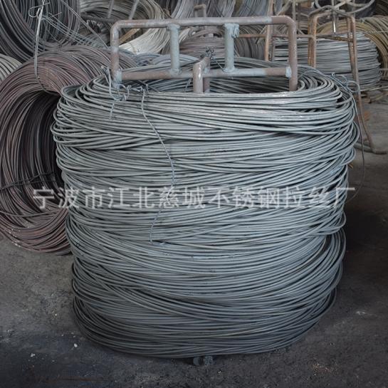 不锈钢线材_供应sus410不锈钢线材410螺丝冷墩线中硬光亮不锈铁线超硬弹簧